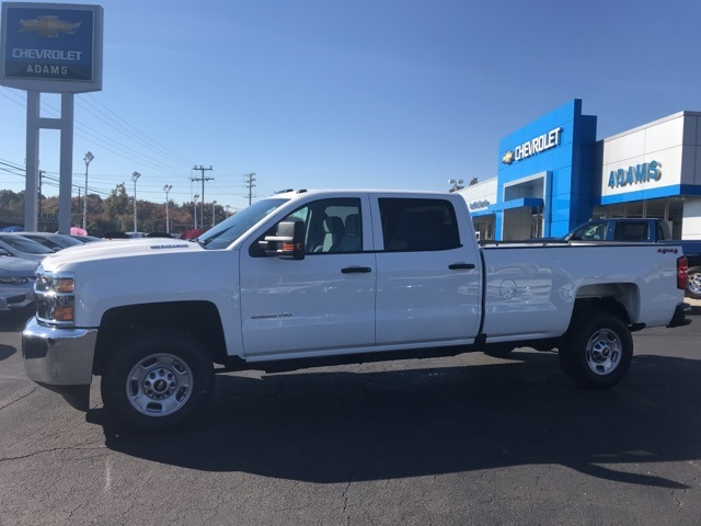 New 2019 Chevrolet Silverado 2500hd Work Truck 4d Crew Cab In Havre
