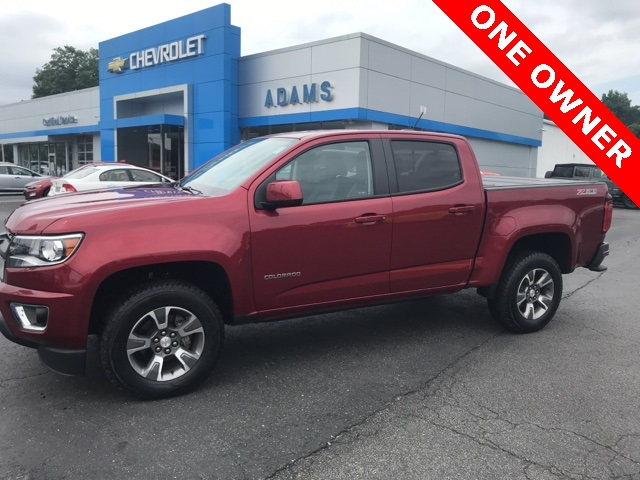Pre Owned 2017 Chevrolet Colorado Z71 4wd 4d Crew Cab